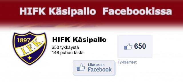 HIFK Käsipallo Facebookissa