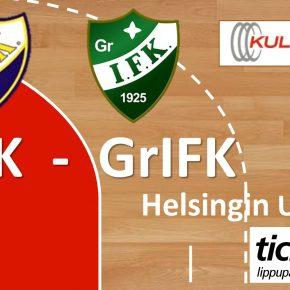 SEURAAVA KOTIOTTELU: HIFK-GrIFK La 15.10. klo 17:15