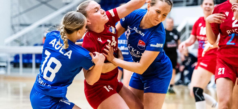 Käsipallon Naisten SM-sarjan 3. finaaliottelu HIFK - Dicken, Helsingin Urheilutalo, 23. huhtikuuta 2021.